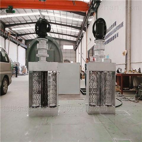 潜水式 雨水泵站用 粉碎格栅机报价