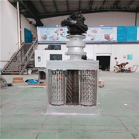 雙鼓 雨水提升泵站 粉碎格柵清污機定做