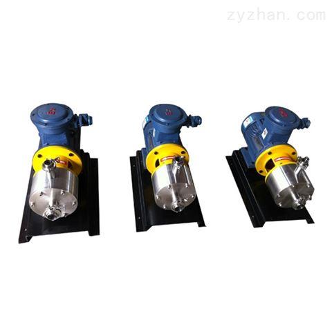 隔爆型管线式乳化机/泵