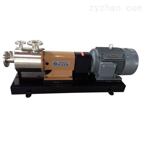 三级管线式乳化机/泵(带夹套/可对工作腔加热或冷却)