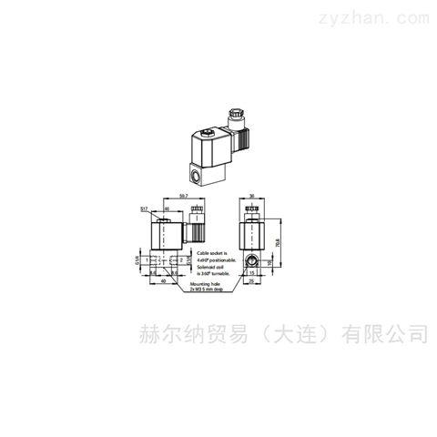 德国avs气动阀系列用于压铸机喷涂系统