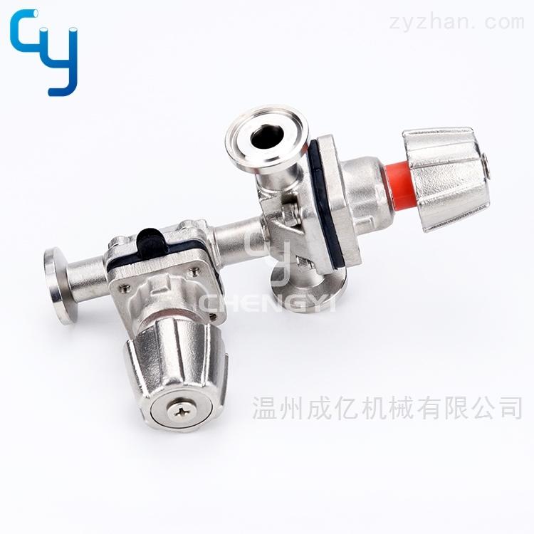 迷你组合式手动隔膜阀不锈钢手轮