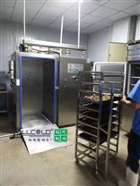 食品加工廠500公斤型熟食真空快速冷卻機