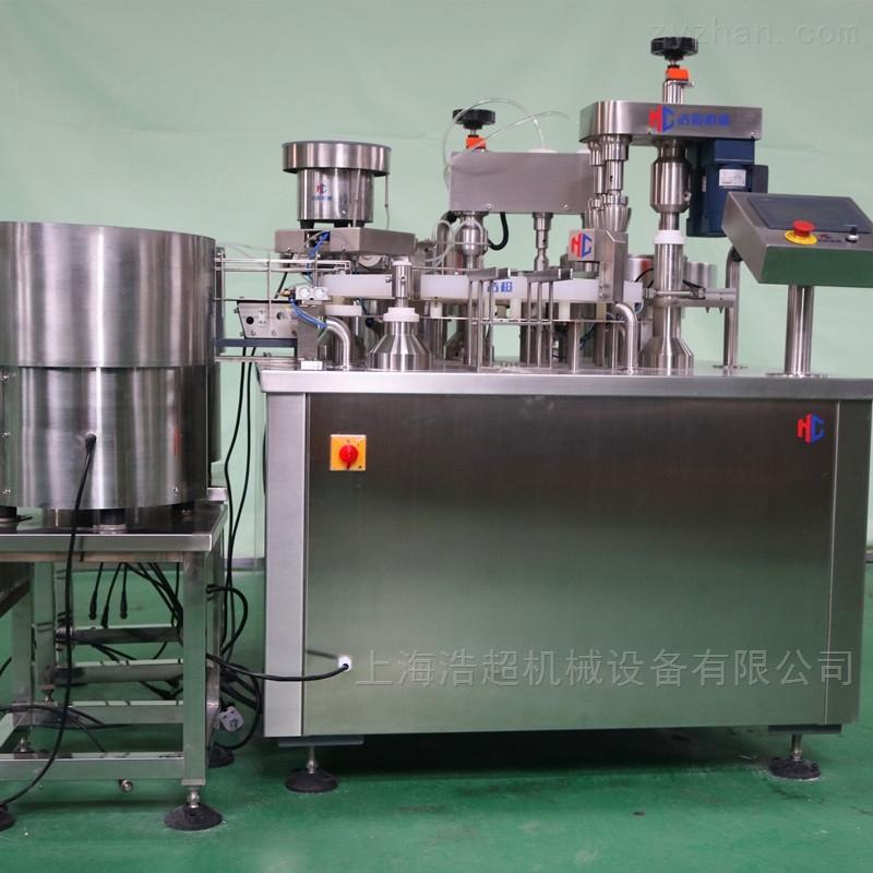 全自动高产能试剂液体灌装机