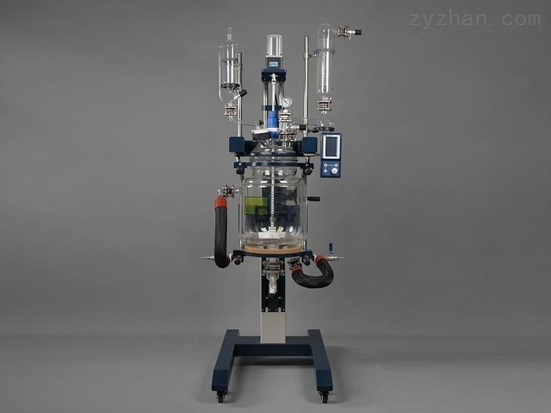 GRL-50CE升降双层玻璃反应釜
