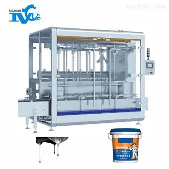 防水涂料液体包装机