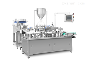YS-ZNJ-100型四头自动凝胶给药器灌装压盖机