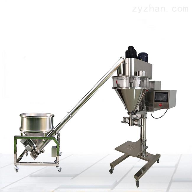 直列式5000克杂粮定量全自动粉末灌装机