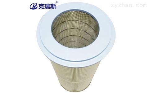 法兰粉尘滤筒325*215*400焊烟除尘玻璃纤维滤筒滤芯