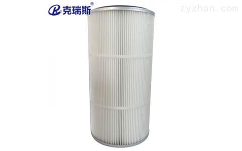 防静电滤材喷塑喷粉除尘滤芯滤筒325X215X600