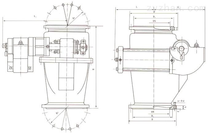 Q648MX外形结构尺寸图