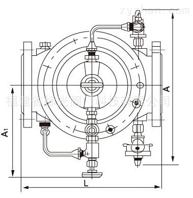 DY30BX缓开快闭止回阀结构图片