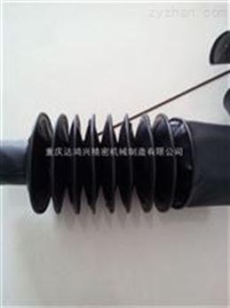 机床丝杆防护罩防油污