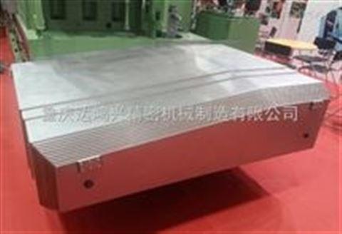 重庆数控机床导轨伸缩钢板防护罩