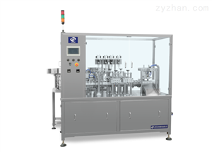 YS-ZGF-100自动4工位检测试剂灌装封口机