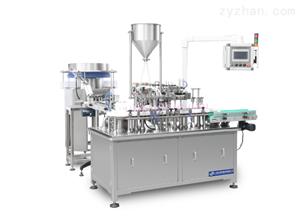 YS-ZNJ-50两头自动凝胶给药器灌装压盖机
