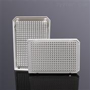 LABSELECT 384孔40ul双切角PCR板 白黑框