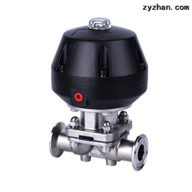 QGGMV卫生级气动隔膜阀