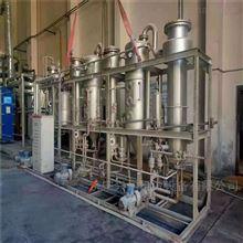 转让蒸发量500公斤全钛三效强制循环蒸发器