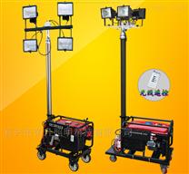 YG9688油電兩用大型移動照明裝置4*500W