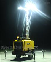 夜間工程施工照明燈塔/拖車式移動照明車