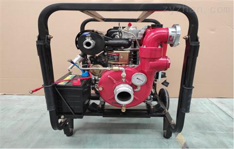 薩登柴油真空水泵防汛排澇小型