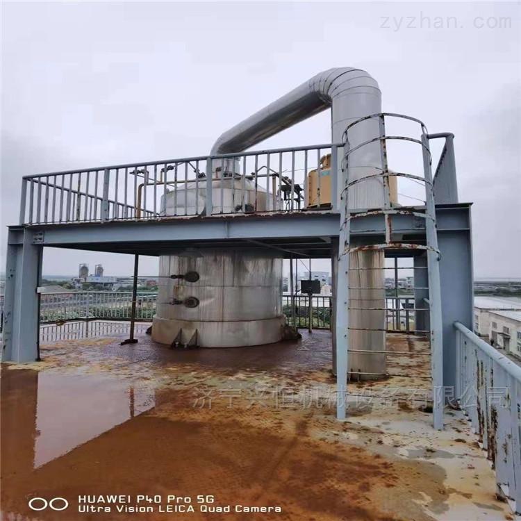 处理二手5吨钛材MVR蒸发器设备