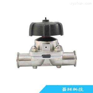 卫生级气动双膜片隔膜阀