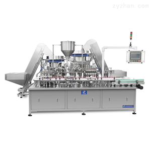 YS-ZNG-150全自动六工位妇科凝胶灌装压盖机