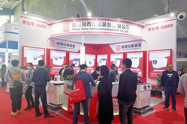 赫西仪器高速冷冻离心机亮相第55届高博会,尽显国产品牌魅力!