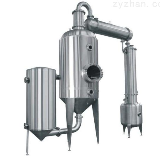 降膜浓缩器的工艺流程有四种不同的形式