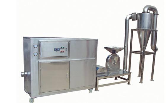 南京润邦机械科技有限公司关于冷冻粉碎机的几点说明