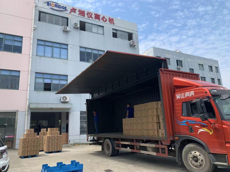 卢湘仪海外客户订单纷沓而至,又出口美国600台离心机